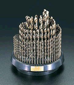 【メーカー在庫あり】 エスコ ESCO 1.0- 13mm ドリルセット 100本組/Co-HSS 000012036572 JP店