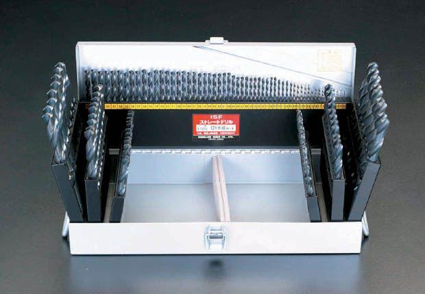 【メーカー在庫あり】 エスコ ESCO 1.0- 13mm ドリルセット 121本組/HSS 000012020991 JP店