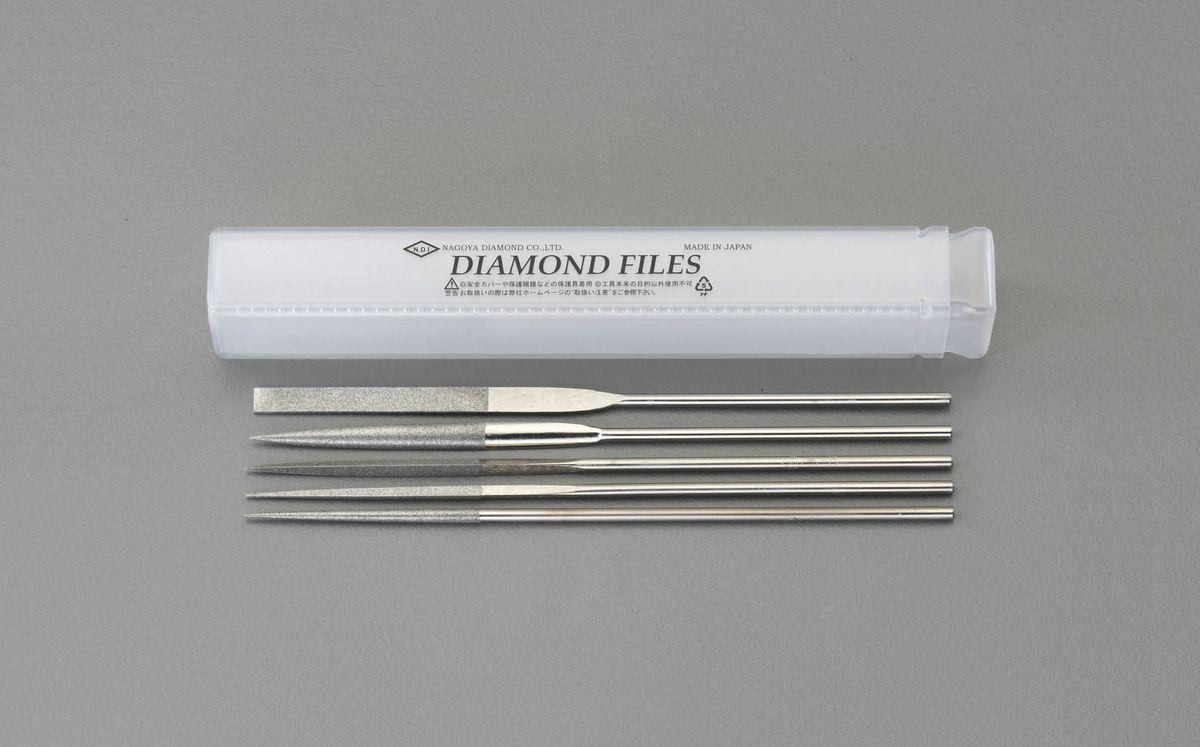 【メーカー在庫あり】 エスコ ESCO 180mm ダイヤモンドやすり 精密・5種・5本組 000012214360 JP店