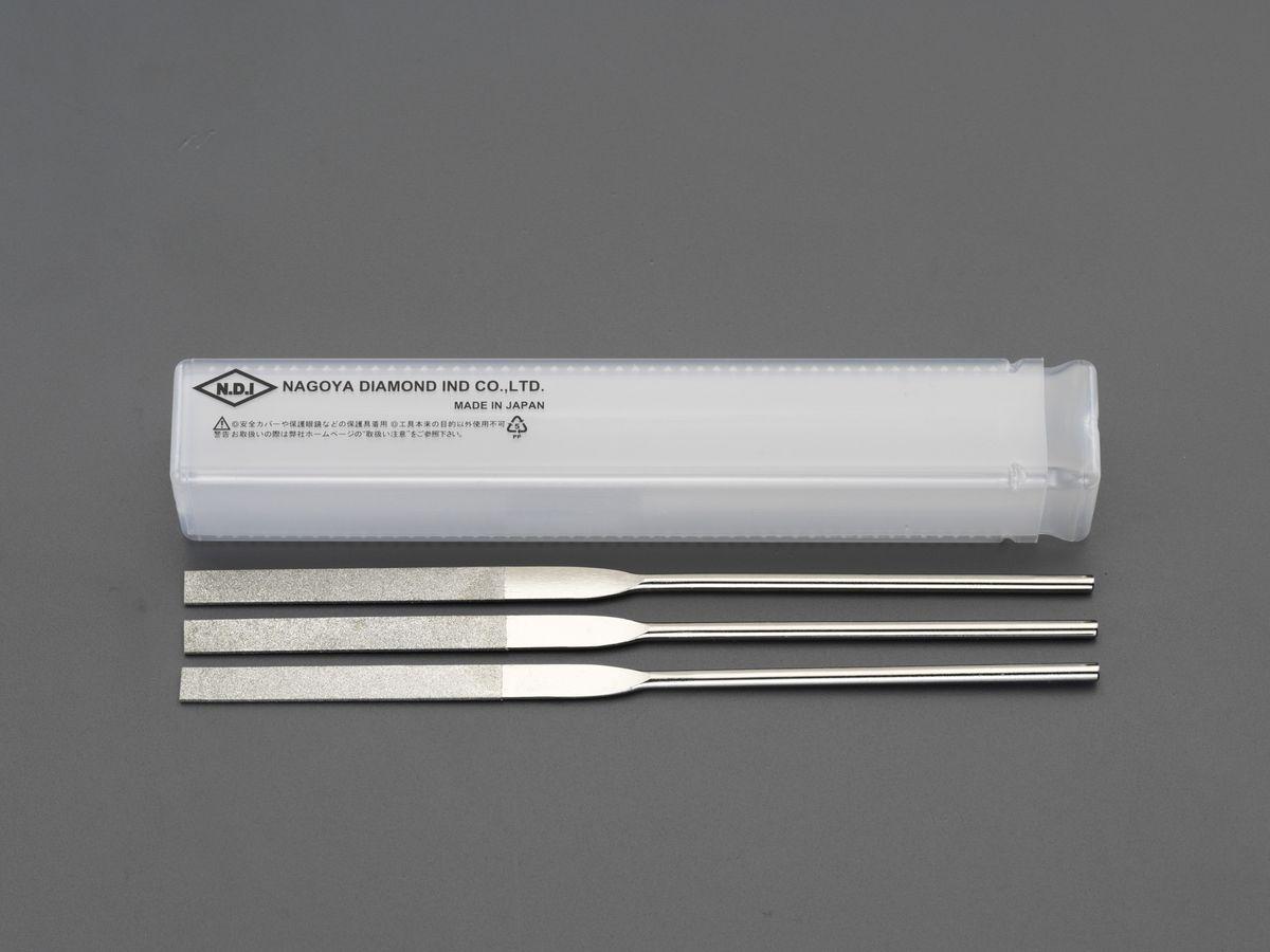 【メーカー在庫あり】 エスコ ESCO 200mm ダイヤモンドヤスリ 精密・平/3粒度・3本組 000012256504 JP店
