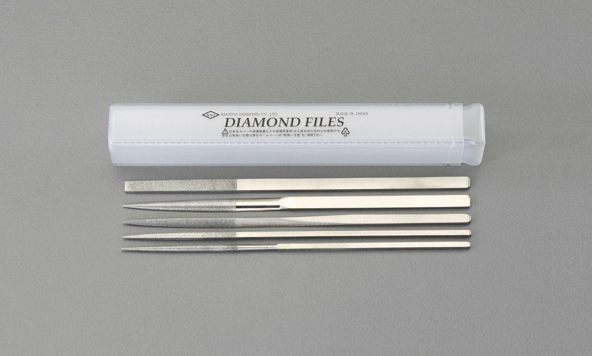 【メーカー在庫あり】 エスコ ESCO 185mm/#150 ダイヤモンドやすり 5種・5本組 000012214375 JP店