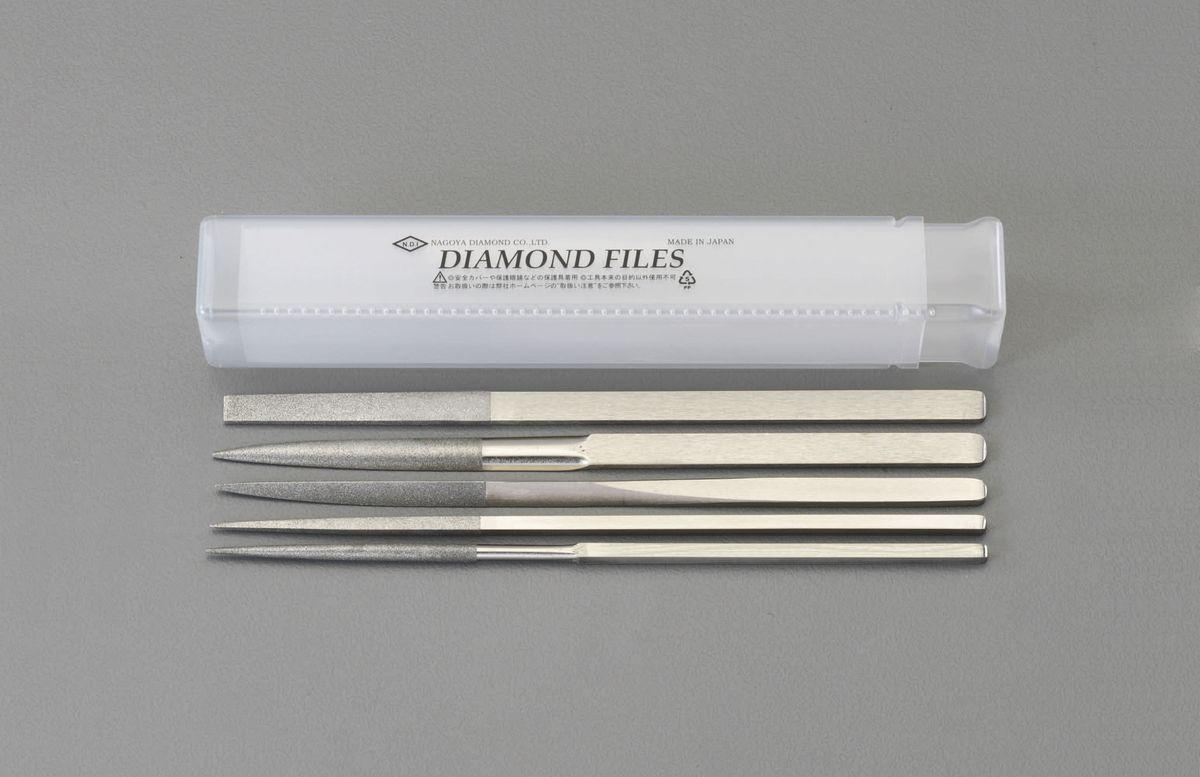 【メーカー在庫あり】 エスコ ESCO 200mm/#150 ダイヤモンドやすり 5種・5本組 000012214381 JP店