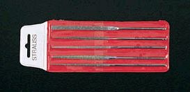 【メーカー在庫あり】 エスコ ESCO 140mm ダイヤモンドやすり 精密/5種・5本組 000012036733 JP店