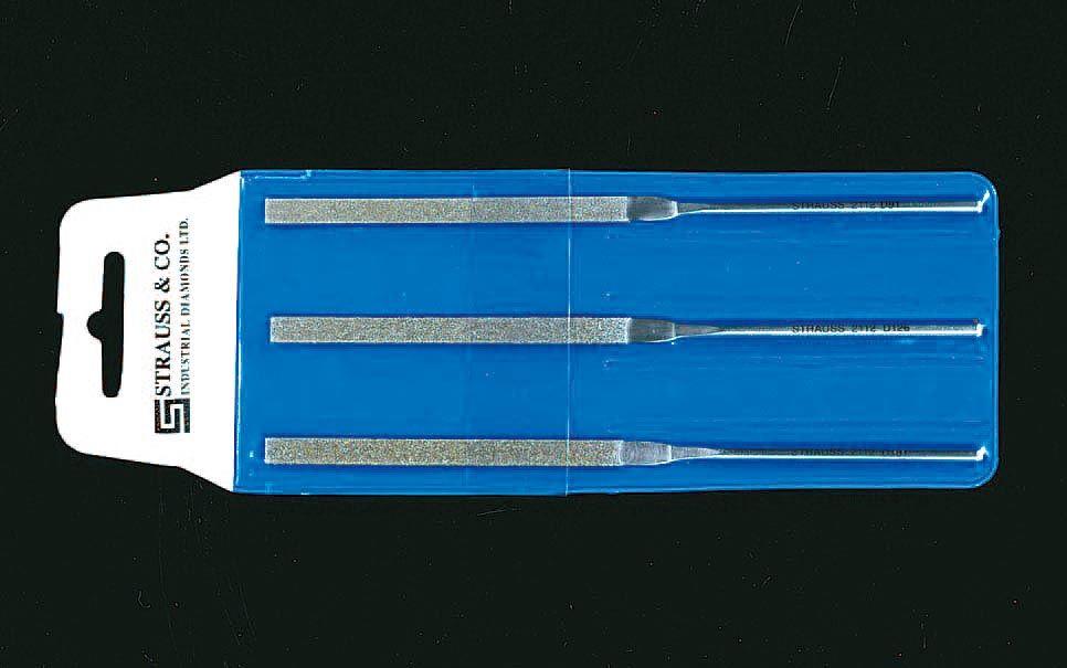 【メーカー在庫あり】 エスコ ESCO 140mm ダイヤモンドヤスリ 平・3本組/粗・中・細目 000012007405 JP店