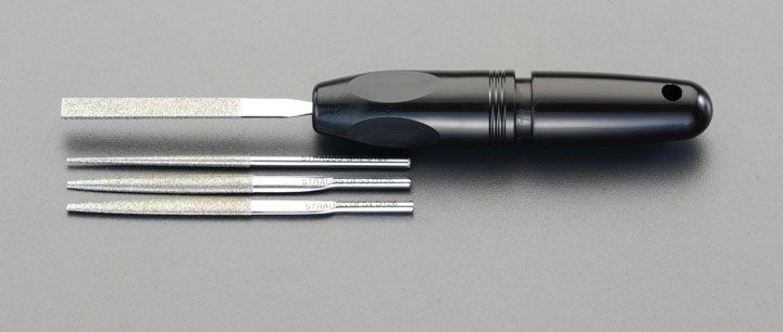 【メーカー在庫あり】 エスコ ESCO #140/4本組 ダイヤモンドやすり 精密用 000012089795 JP店