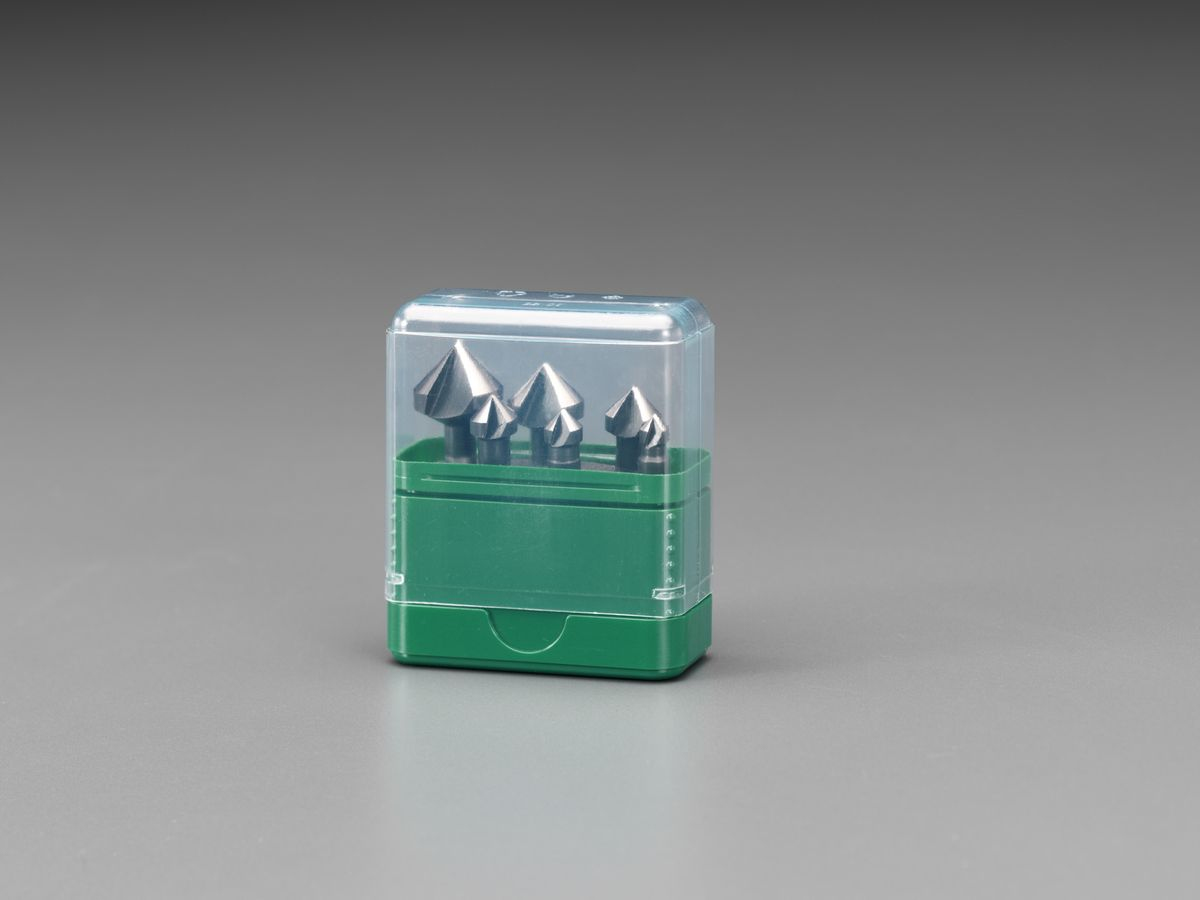 【メーカー在庫あり】 エスコ ESCO 6.3-20.5mm カウンターシンク 1/4