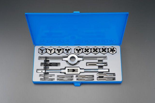 エスコ ESCO M3-M16 タップダイスセット SKS2/ISO 000012054503 JP店