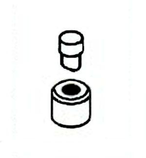 【メーカー在庫あり】 エスコ ESCO 8mm パンチ EA858HR-1A/丸穴・薄板用 000012241362 JP店