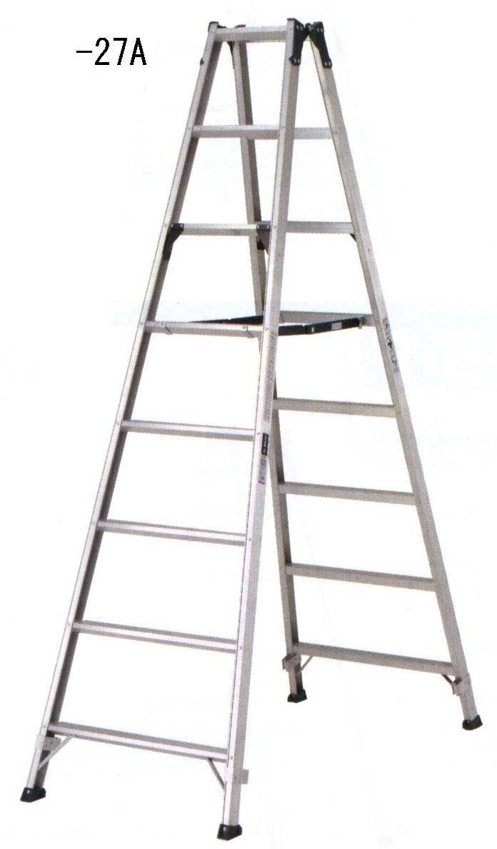 【メーカー在庫あり】 エスコ ESCO 2.59m 脚 立 ワイドステップ/アルミ製 000012095205 JP店