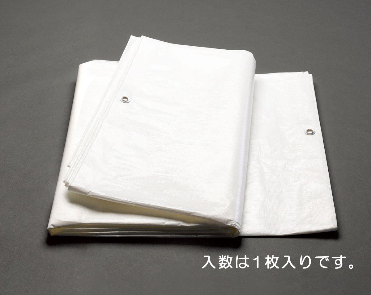 【メーカー在庫あり】 エスコ ESCO 5.4x7.2m ホワイトシート #3000/1枚 000012241560 JP店