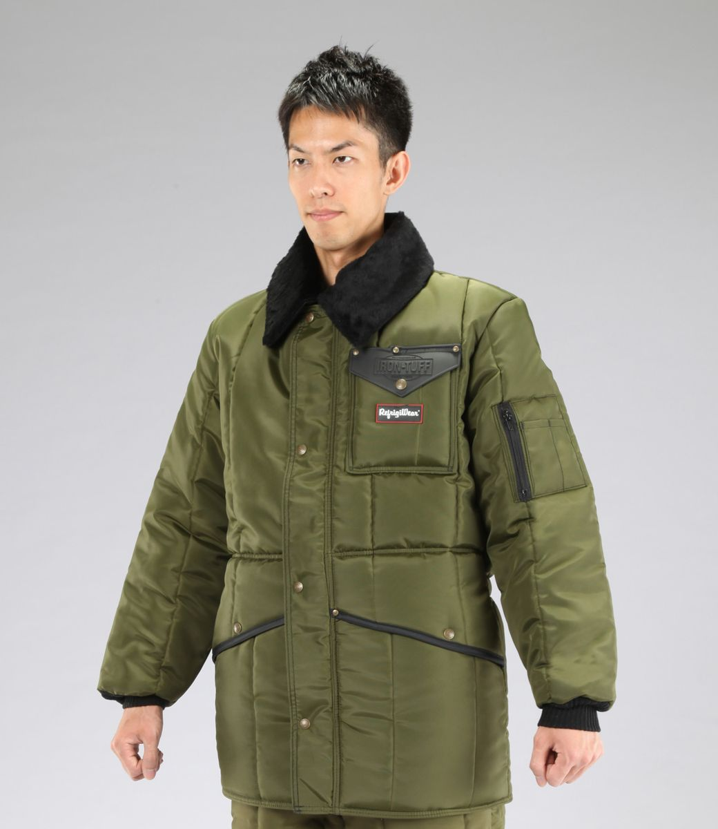 【メーカー在庫あり】 エスコ ESCO 2XL 防寒ジャケット Sage 000012049916 JP店