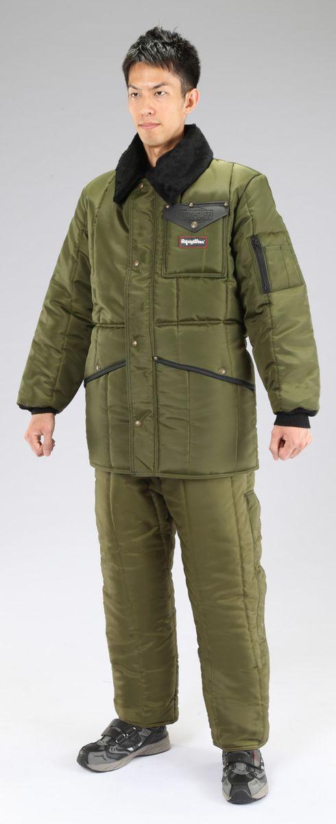 【メーカー在庫あり】 エスコ ESCO L 防寒服上下セット Sage 000012049928 JP店