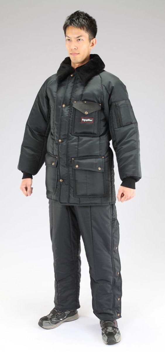 【メーカー在庫あり】 エスコ ESCO L 防寒服上下セット Navy 000012044885 JP店