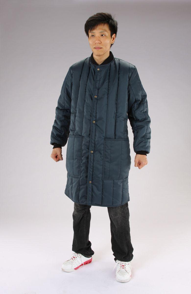 【メーカー在庫あり】 エスコ ESCO 2XL 防寒ロングコート Navy 000012264784 JP店