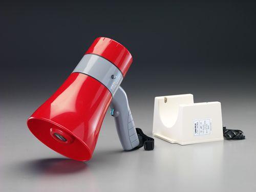 【メーカー在庫あり】 エスコ ESCO 10W メガホン 防水型/充電式 000012201486 JP店