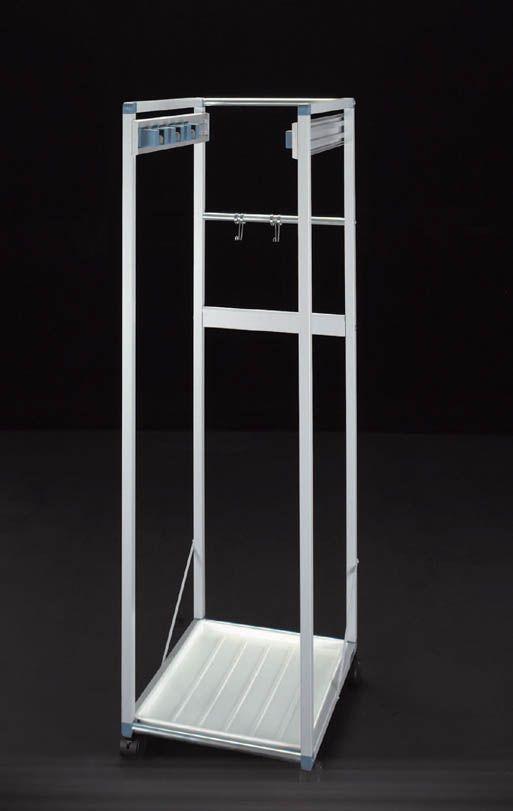 【メーカー在庫あり】 エスコ ESCO 465x485x1365mm モップハンガー 6本掛 000012076772 JP店