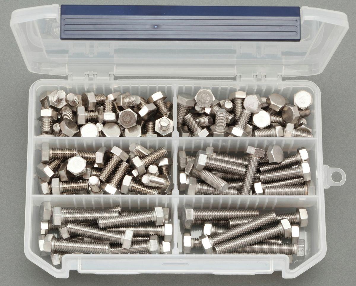【メーカー在庫あり】 エスコ ESCO M8 六角ボルトセット ステンレス製 000012222111 JP店