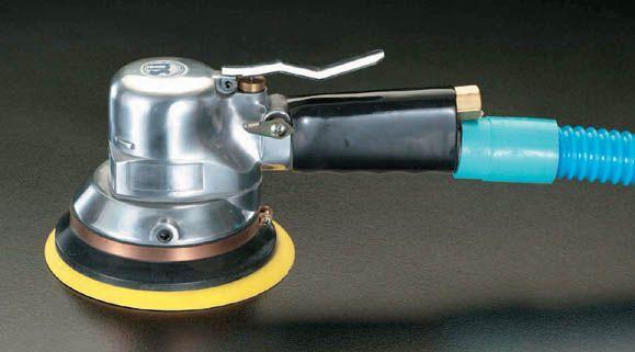 【メーカー在庫あり】 エスコ(ESCO) 10,000rpm/150mm エアーサンダー(マジック式) 000012001823 JP