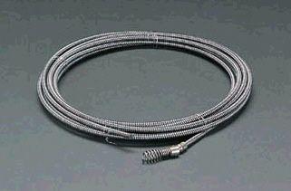 【メーカー在庫あり】 エスコ(ESCO) 6.5mmx7.5m ケーブル(ダウンヘッド) 000012061167 JP