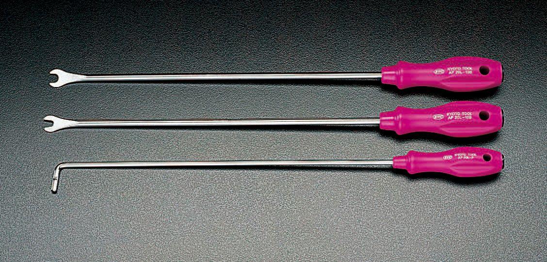 【メーカー在庫あり】 エスコ ESCO 3本組 ロングクリップツール(ストレート) 000012058075 JP店