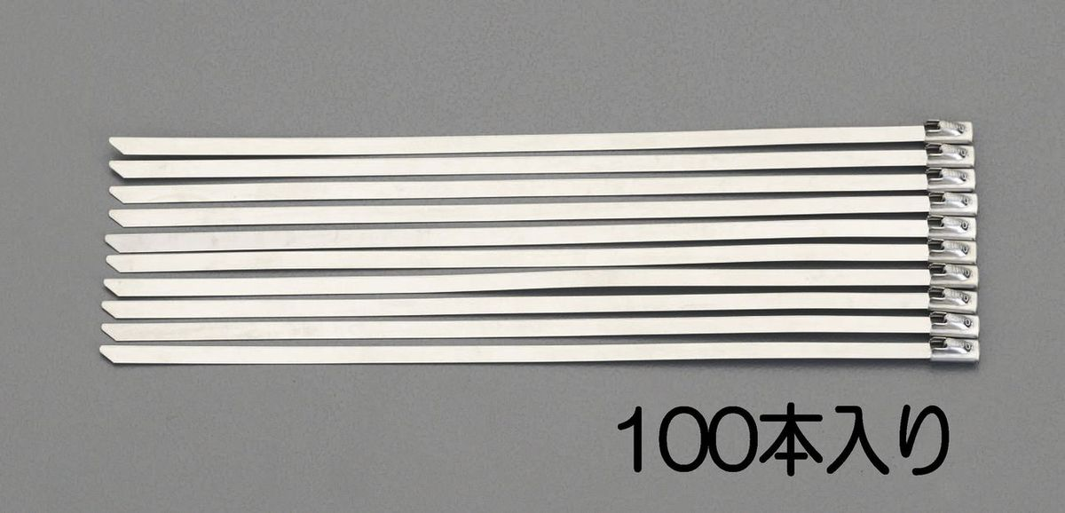 【メーカー在庫あり】 エスコ ESCO 7.9x360mm 結束バンド(SUS304/100本) 000012224736 JP