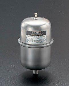 【メーカー在庫あり】 エスコ ESCO 1.0 L ウォーターハンマー ショックアブソーバー(ステンレス製) 000012012646 JP