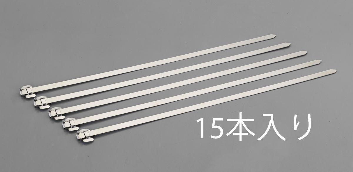 エスコ ESCO 12.7x1930mm バンド(201ステンレス バックル付/15本) 000012247480 JP
