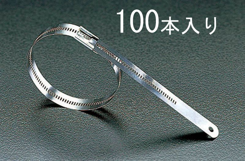 【メーカー在庫あり】 エスコ ESCO 6.9x300mm 結束バンド(316ステンレス製/100本) 000012013919 JP
