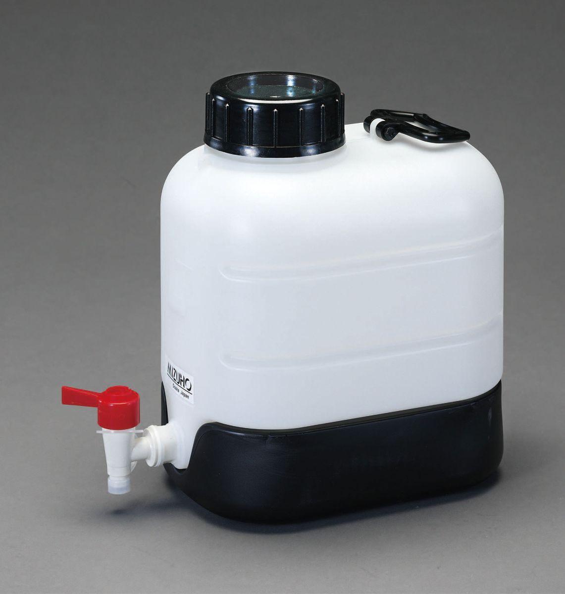 【メーカー在庫あり】 エスコ ESCO 20L ポリ容器(底部傾斜 コック付) 000012225425 JP