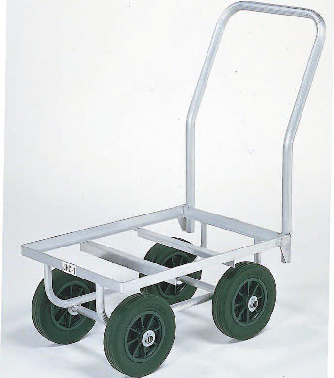 【メーカー在庫あり】 エスコ ESCO 540x385mm/50kg ハウスカー(アルミ製) 000012072990 JP