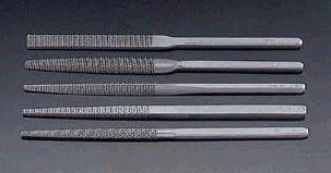 【メーカー在庫あり】 エスコ ESCO 200mm やすり(5種 5本組/おに目) 000012015936 JP