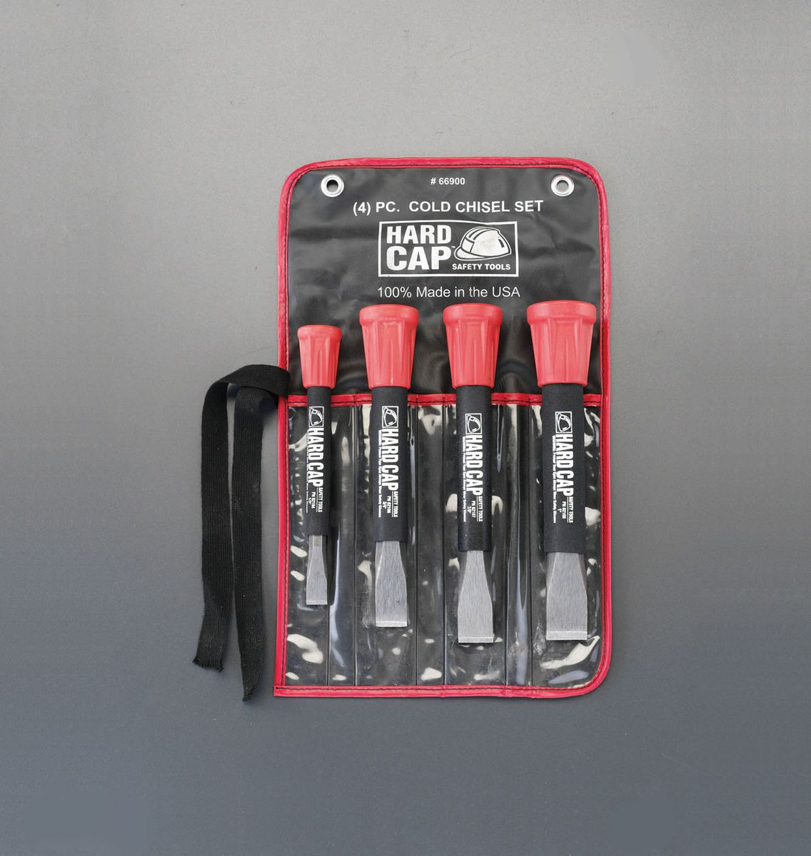 【メーカー在庫あり】 エスコ ESCO 13-25mm 4本組平タガネ(グリップ付) 000012209300 JP店