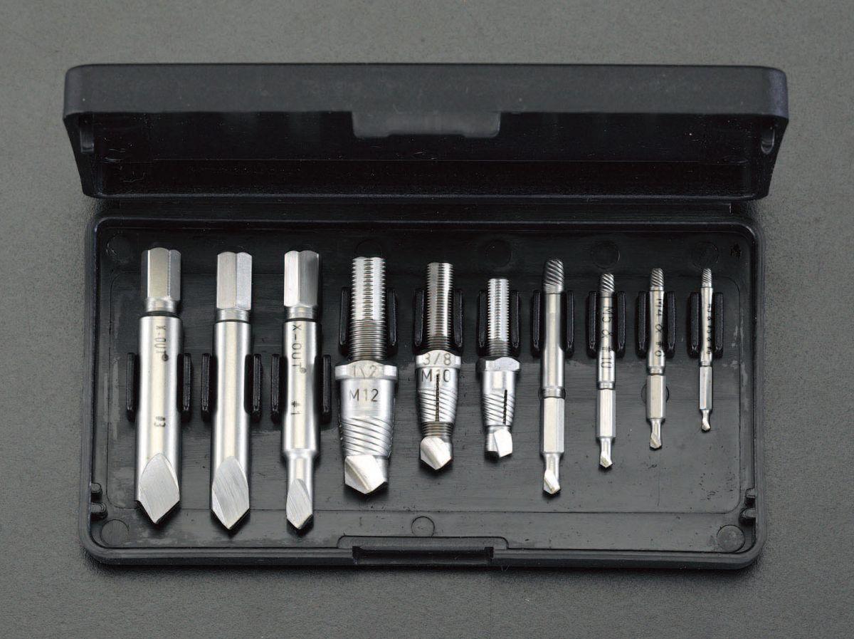 【メーカー在庫あり】 エスコ ESCO M3-M12 スクリューエキストラクターセット(左回転) 000012046908 JP店