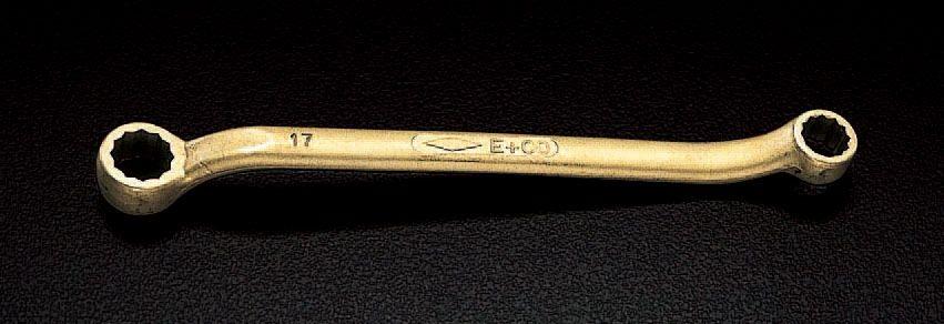 【メーカー在庫あり】 エスコ ESCO 24x27mm めがねレンチ(ノンスパーキング) 000012053063 JP店
