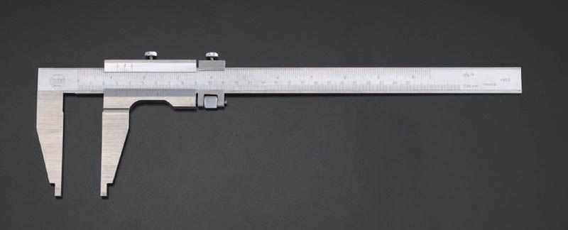 【メーカー在庫あり】 エスコ ESCO 250x 80mm ノギス(微調整付) 000012048589 JP店