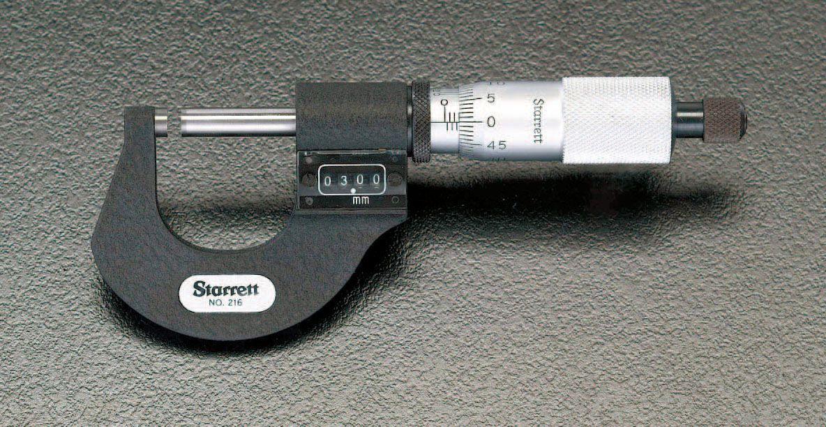 【メーカー在庫あり】 エスコ ESCO 0- 25mm 1/1000マイクロメーター(デジタル) 000012018410 JP店