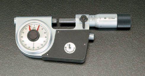 【メーカー在庫あり】 エスコ ESCO 25-50 mm 指示マイクロメーター 000012018449 JP店