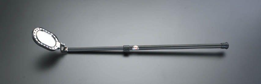 【メーカー在庫あり】 エスコ ESCO 75x110mm/0.6-1.0m 点検ミラー(LEDライト付) 000012068804 JP店