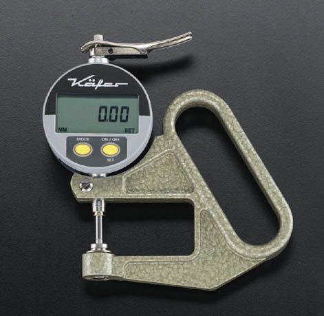 【メーカー在庫あり】 エスコ ESCO 0-10mm / 0.01 デジタルシクネスゲージ 000012048579 JP店