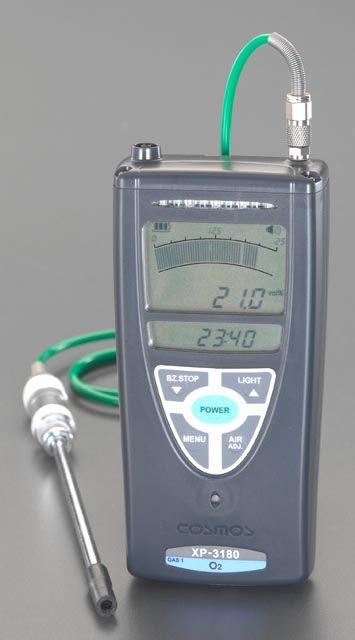 【メーカー在庫あり】 エスコ ESCO デジタル酸素濃度計 000012080162 JP店