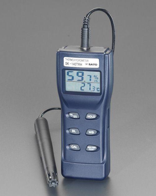 【メーカー在庫あり】 エスコ ESCO デジタル温度 湿度計 000012080205 JP店