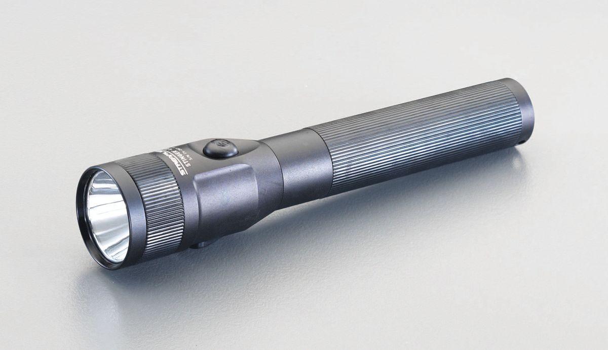 【メーカー在庫あり】 エスコ ESCO 充電式 フラッシュライト/LED(黒) 000012223313 JP店