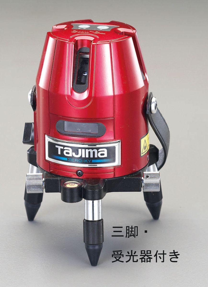 【メーカー在庫あり】 エスコ ESCO レーザー墨出し器(三脚 受光器セット) 000012228857 JP