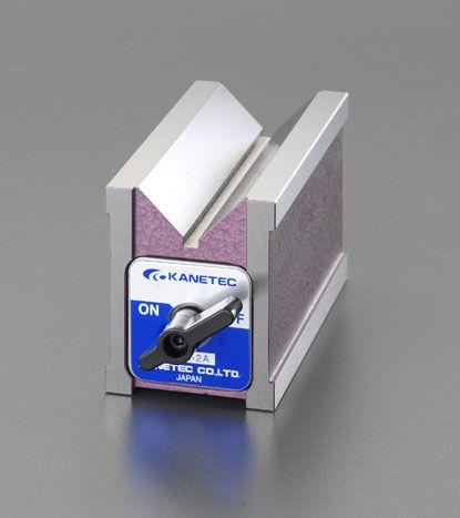 【メーカー在庫あり】 エスコ ESCO 80x60x73mm/300N V形マグネットホルダー 000012254184 JP
