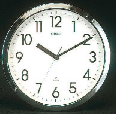 【メーカー在庫あり】 エスコ ESCO φ320mm 掛 時 計 000012005822 JP