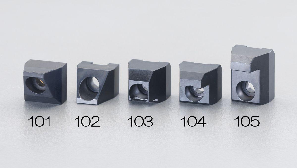 【メーカー在庫あり】 エスコ ESCO 28x29.5x24.5mmEA637EV-12用 クランピングジョー 000012210018 JP店