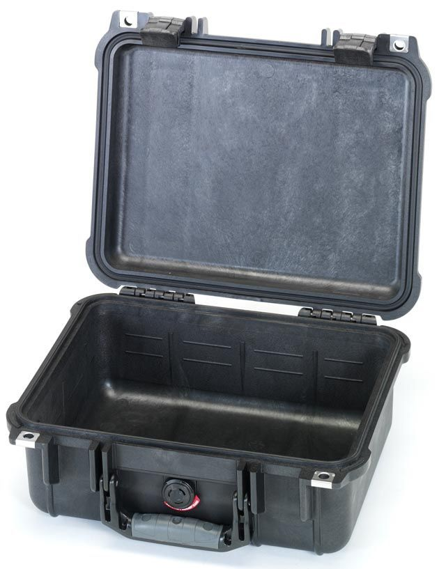 【メーカー在庫あり】 エスコ ESCO 371x258x152mm/内寸 防水ケース(黒/ウレタン無) 000012203675 JP店