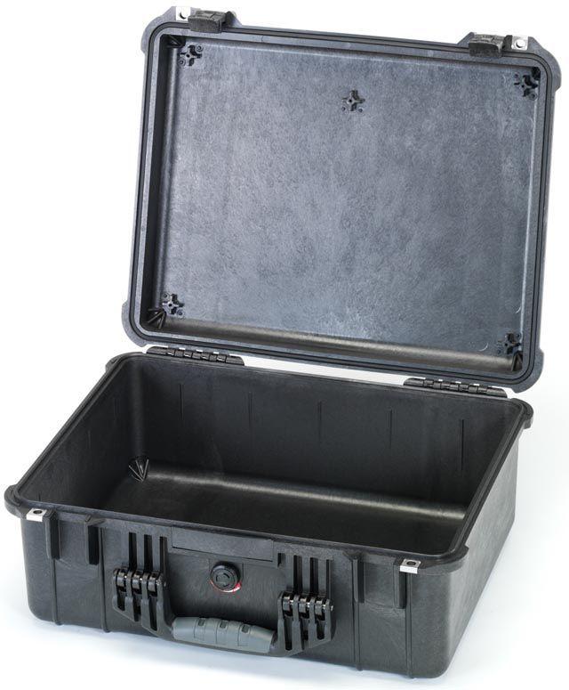 【メーカー在庫あり】 エスコ ESCO 468x355x193mm/内寸 防水ケース(黒/ウレタン無) 000012203680 JP店