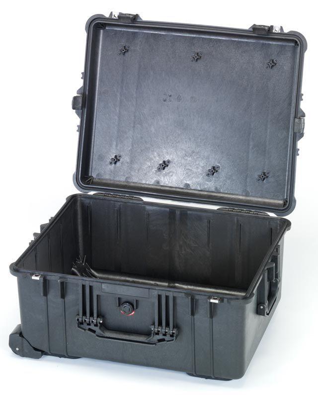 【メーカー在庫あり】 エスコ ESCO 543x414x319mm/内寸 防水ケース(黒/ウレタン無) 000012203942 JP店