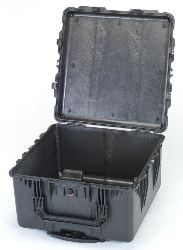 【メーカー在庫あり】 エスコ ESCO 609x609x353mm/内寸 防水ケース(黒/ウレタン無) 000012203685 JP店